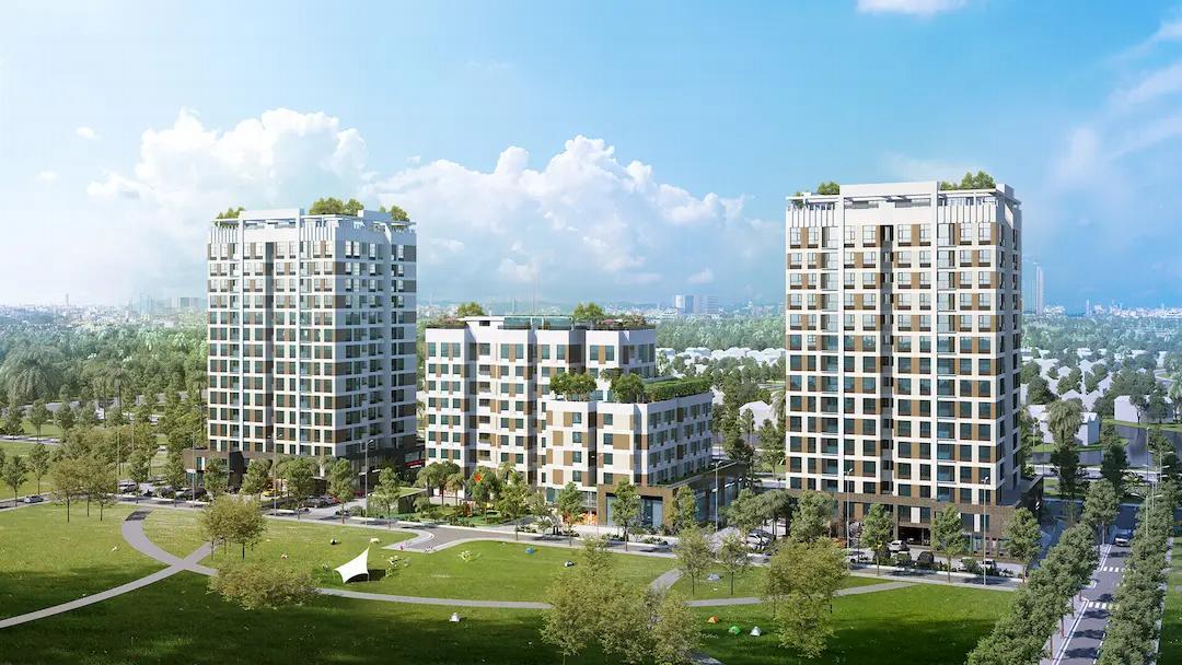 Dự án nhà ở xã hội chung cư Bình Phú Tanimex